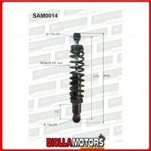 SAM0014 COPPIA AMMORTIZZATORI POSTERIORI MICROCAR LIGIER XT-OO R MAX JS28 0200076 (MK014)