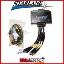 RID1M Modulo STARLANE CAN BUS con ingressi per: RPM, VELOCITA' RUOTA, MARCIA + 3 canali analogici + Accelerometro triassiale-