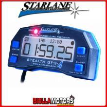 CSTHGPS4LT Cronometro STARLANE STEALTH GPS-4 LITE GPS + GLONASS con Intertempi + Velocita' GPS + Doppio Contaore + Scarico Tempi