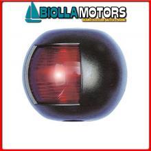 2111700 FANALE NAVIGAZIONE FLAT RED BLACK Fanali (R.I.Na.) Mini Flat Black