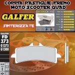 FD373G1375 PASTIGLIE FRENO GALFER SINTERIZZATE ANTERIORI DUCATI 848 STREETFIGHTER EVO SP 12-