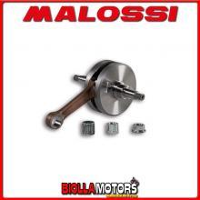 5316176 ALBERO MOTORE MALOSSI VESPA PX E 200 2T Ø 16 BIELLA 110 (CORSA 60MM) VALVOLA LAMELLARE