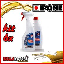 KIT 6X IPONE MOTOWASH POLVERIZZATORE + RICARICA 2X500ML - 409703150