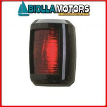 2111400 FANALE NAVIGAZIONE RED BLACK Fanali (R.I.Na.) Mini Black