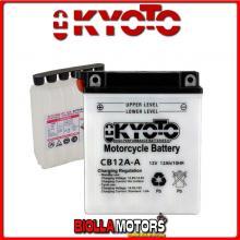 712121 BATTERIA KYOTO YB12A-A CON ACIDO YB12AA MOTO SCOOTER QUAD CROSS