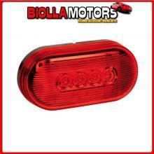 98485 LAMPA LUCE INGOMBRO A 10 LED, 24V - ROSSO