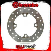 68B40766 DISCO FRENO POSTERIORE BREMBO HONDA CBR R 2011-2013 125CC FISSO