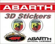 21536 ADESIVO 3D STICKERS STEMMA ABARTH D. 21MM
