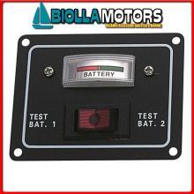 2101640 PANNELLO BAT TESTER Pannello Tester Rocker per 2 Batterie