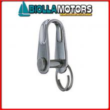 0121509 GRILLO STAMP D5 INOX Grillo Dritto HS con Anellino