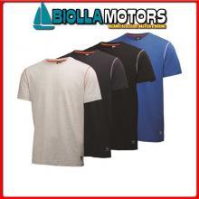 3040840 HH OXFORD TSHIRT 990 BLACK S T-Shirt HH Oxford