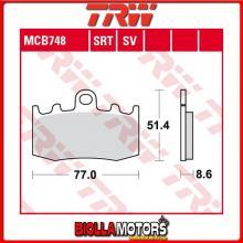 MCB748 PASTIGLIE FRENO ANTERIORE TRW BMW R 850 RT Integral ABS 2001-2006 [ORGANICA- ]