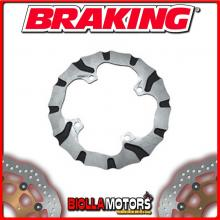 BY4505 DISCO FRENO POSTERIORE BRAKING HUSABERG TE 125cc 2012-2014 WAVE FLOTTANTE