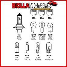 58158 LAMPA KIT LAMPADE DI RICAMBIO 11 PZ, ALOGENA H7 - 12V