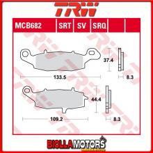 MCB682 PASTIGLIE FRENO ANTERIORE TRW Kawasaki ZRX 400 1996-1997 [ORGANICA- ]
