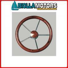 4641640 VOLANTE D400 INOX/MOGANO Volante Classic M/Steel