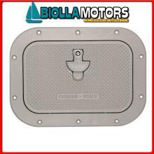 4003028 PORTELLO CR SQUARE SMALL ALU GREY Portello in Alluminio Small
