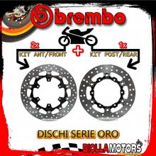 BRDISC-4070 KIT DISCHI FRENO BREMBO KTM SMR R 2014- 690CC [ANTERIORE+POSTERIORE] [FLOTTANTE/FLOTTANTE]