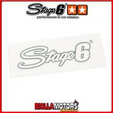 S6-0525/C ADESIVO STAGE6 argento 20 x 6cm