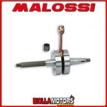 537600 ALBERO MOTORE MALOSSI RHQ APRILIA SR 50 2T LC EURO 4 (PIAGGIO CA81M) BIELLA 80 - SP. D. 12 CORSA 39,3 MM -