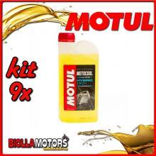 KIT 9X LITRO LIQUIDO REFRIGERANTE MOTUL MOTOCOOL EXPERT 1L - 9x 105914