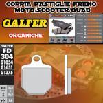 FD304G1054 PASTIGLIE FRENO GALFER ORGANICHE ANTERIORI HM DERAPAGE 2T COMPETICION 11-