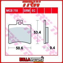 MCB710 PASTIGLIE FRENO POSTERIORE TRW Hyosung GT 250 Ri 2015-2017 [ORGANICA- ]