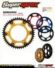 RST-460.49-GLD CORONA SUPERSPROX STEALTH ORO 49/520 KAWASAKI KX 125cc 85