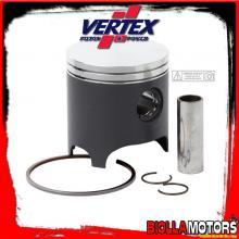 22339040 PISTONE VERTEX 61mm 2T PIAGGIO Hexagon, Water cooling - 150cc (2 segmenti)