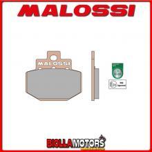 6215015 PASTIGLIE FRENO MALOSSI SYNT VESPA GTS SUPER 300 IE 4T LC EURO 3 <-2013 (QUASAR M454M) - -