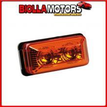 98393 LAMPA LUCE INGOMBRO A 2 LED, 24V - ARANCIO