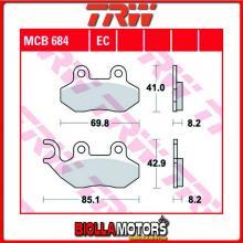 MCB684 PASTIGLIE FRENO ANTERIORE TRW Barossa XS 125 2007-2010 [ORGANICA- ]