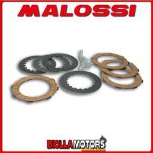 5216515 SERIE DISCHI FRIZIONE MALOSSI (8 MOLLE) VESPA PX E 200 2T