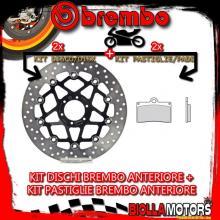 KIT-B8N1 DISCO E PASTIGLIE BREMBO ANTERIORE HONDA RS R 250CC 1993- [RC+FLOTTANTE] 78B408A3+07BB15RC