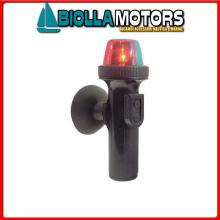 2114014 FANALE VENTOSA LED RED/GREEN< Fanali LED a Batteria Rosso/Verde