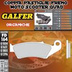 FD164G1054 PASTIGLIE FRENO GALFER ORGANICHE ANTERIORI RIEJU MRX 450 05-