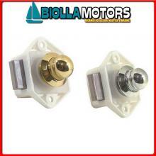 0343119 CHIUSURA D19 COMPACT OTTONE CR Chiusura a Pulsante F&S Compact