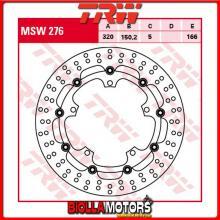 MSW276 DISCO FRENO ANTERIORE TRW Triumph 1050 SpeedTriple,Fgst.-461331 2008-2010 [FLOTTANTE - ]