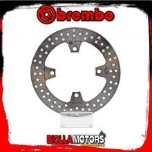 68B407A3 DISCO FRENO POSTERIORE BREMBO KAWASAKI Z 750 ABS 2007- 750CC FISSO