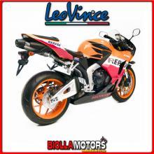 8790E TERMINALE LEOVINCE HONDA CBR 600 RR /ABS 2013-2016 LV ONE INOX/INOX DARK