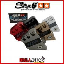 S6-SSP373HL/CR RIALZO AMMORTIZZATORE STAGE 6 cromato 40mm- Peugeot