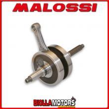 5312853 ALBERO MOTORE MALOSSI PIAGGIO CARNABY 125 4T LC EURO 3 (LEADER M28FM) SP. D. 15 CORSA 48,6 MM -