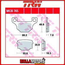 MCB765 PASTIGLIE FRENO ANTERIORE TRW REX 50 Capriolo 2007- [ORGANICA- ]