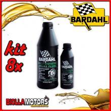 KIT 8X LITRO OLIO BARDAHL BRAKE FLUID RACING DOT 5.1 ABS SINTETICO PER IMPIANTI FRENANTI 1LT - 8x 721039
