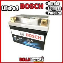 LTZ7S BATTERIA LITIO BOSCH YTZ7S-BS LifePo4 0986122605 YTZ7SBS MOTO SCOOTER QUAD CROSS