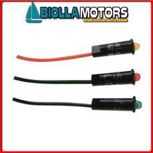 2105020 LED PANNELLO D4MM 12/24V YELLOW Spie LED PL 12/24V