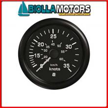 2360513 INDICATORE VEL BLACK 50KN 60513 Indicatori Velocità Uflex Ultra Black