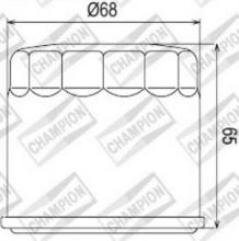 100609515 COF038 FILTRO OLIO KYMCO 450 MXU i / Maxxer i 11-12 (K301)