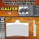 FD068G1003 PASTIGLIE FRENO GALFER GP ANTERIORI SACHS ROADSTER s-805 03-