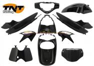 367300 KIT CARENE 10 PEZZI CARENA HONDA SH 125/150 NERO ORIGINALE 2005-2008